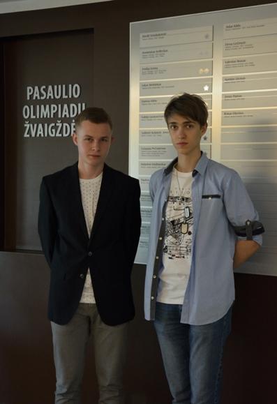 Vytautas Oniūnas ir Martynas Anikanovas