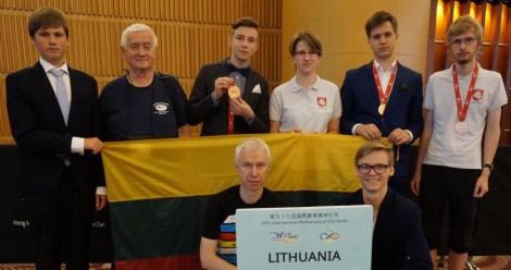 IMO Lietuvos komanda